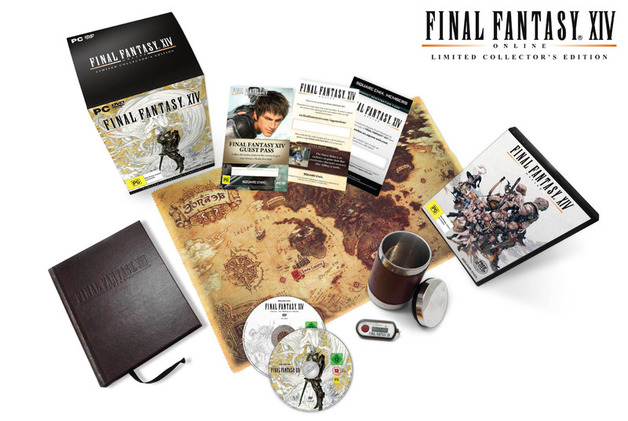Final Fantasy XIV Online Limited Collectors Edition PC (Novo)