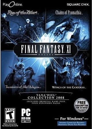 Final Fantasy XI 2008 Complete Edition (Jogo + 4 expansões) PC (Novo)