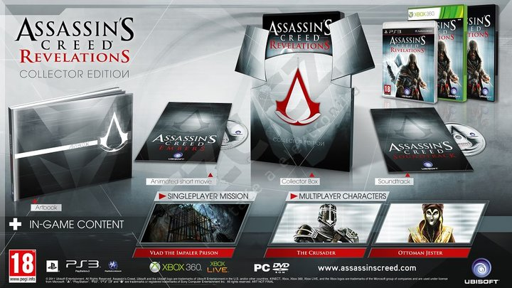 Assassins Creed Revelations Collectors Edition Xbox 360 (Novo)