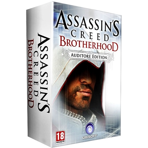 Assassins Creed Brotherhood Auditore Edition Xbox 360 (Seminovo)