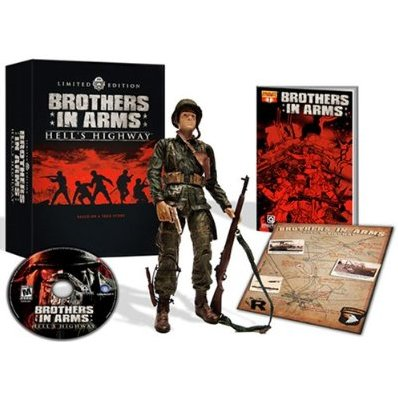 Brother in Arms Hell´s Highway Limited Edition Xbox 360 (Seminovo)
