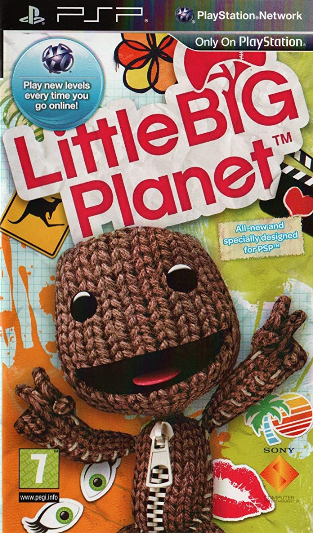 Little Big Planet (Em Português) PSP (Novo)