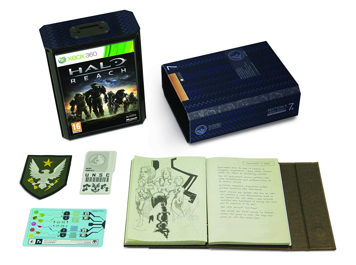 Halo Reach Collectors Edition Xbox 360 (Novo)