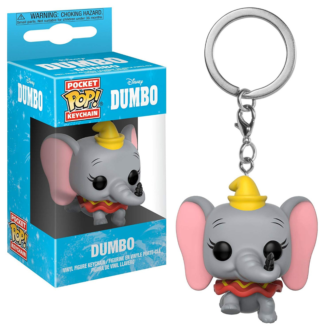 Dumbo Pocket POP! Vinyl Keychain Dumbo 4 cm