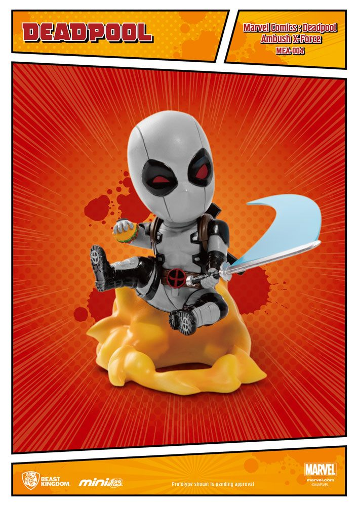 Marvel Comics Mini Egg Attack Deadpool Ambush X-Force Version SDCC Exc.