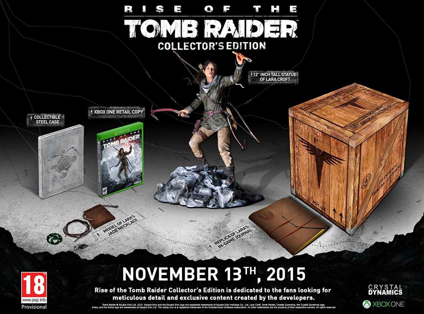 Rise of Tomb Raider Collectors Edition Xbox One (Seminovo)