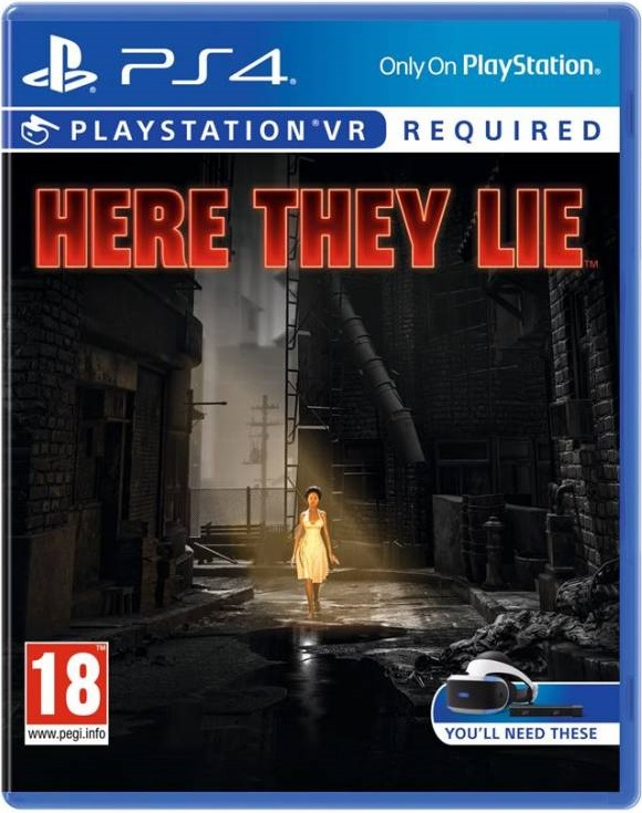 VR Here They Lie PS4 (Seminovo)