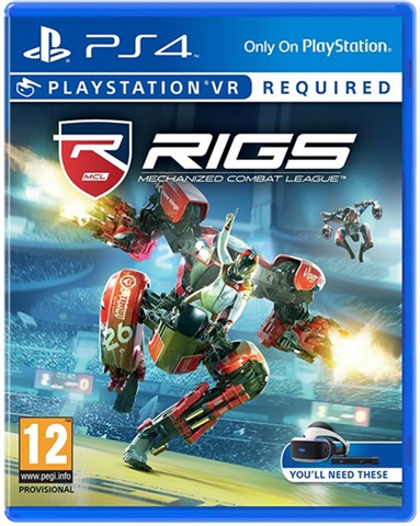 VR Rigs Mechanized Combat League PS4 (Seminovo)