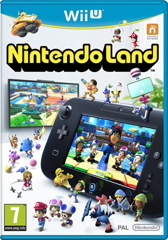 Nintendo Land Nintendo WII-U (Seminovo)