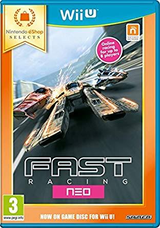 Fast Racing Neo Nintendo WI-U (Seminovo)
