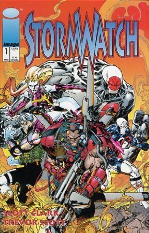 Image Comics - StormWatch #1 (oferta capa protetora)