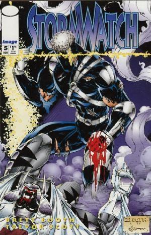 Image Comics - StormWatch #5 (oferta capa protetora)