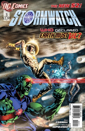 DC Comics - StormWatch The New 52! #3 (oferta capa protetora)