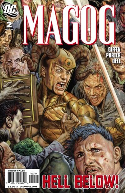 DC Comics - Magog #2 (oferta capa protetora)