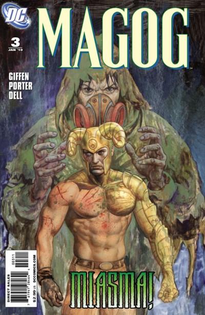 DC Comics - Magog #3 (oferta capa protetora)