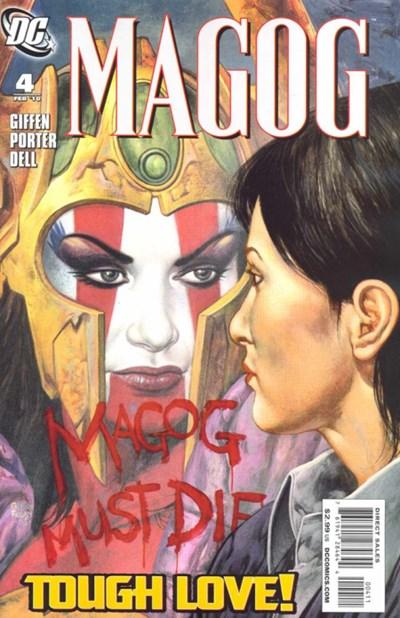 DC Comics - Magog #4 (oferta capa protetora)