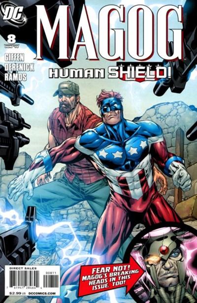 DC Comics - Magog #8 (oferta capa protetora)