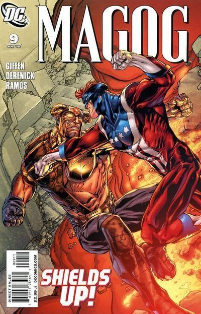 DC Comics - Magog #9 (oferta capa protetora)