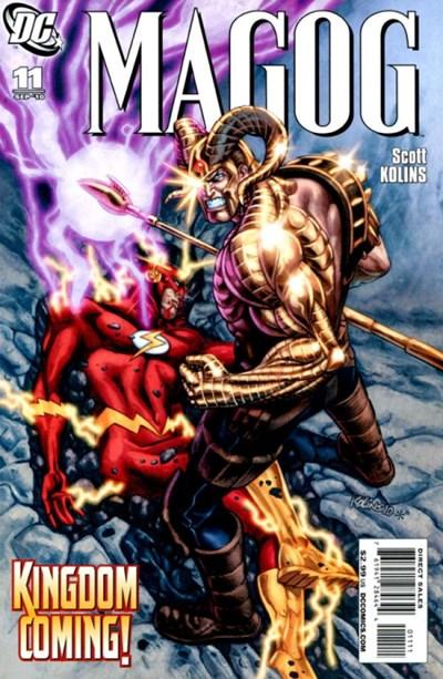 DC Comics - Magog #11 (oferta capa protetora)