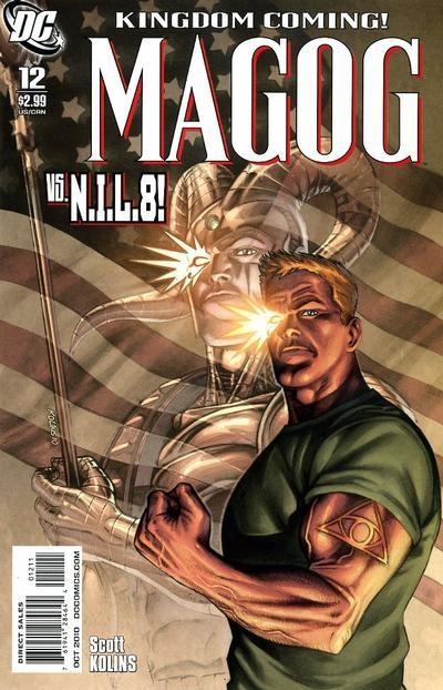 DC Comics - Magog #12 (oferta capa protetora)