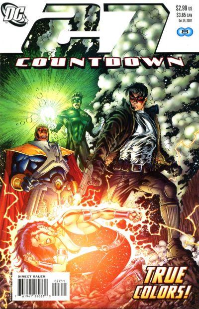 DC Comics - Countdown #27 (oferta capa protetora)