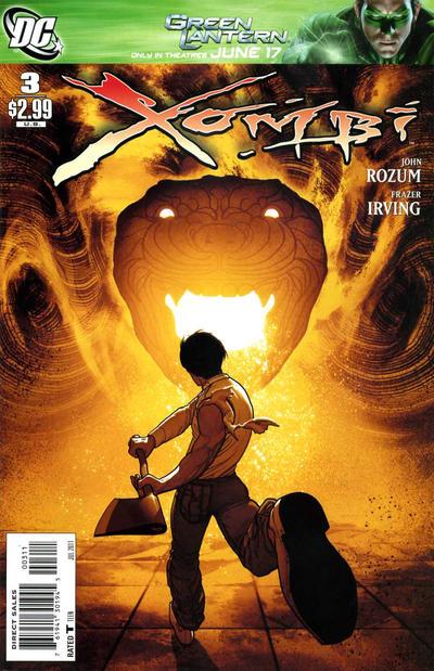 DC Comics - Xombi #3 (oferta capa protetora)