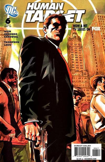 DC Comics - Human Target #6 (oferta capa protetora)