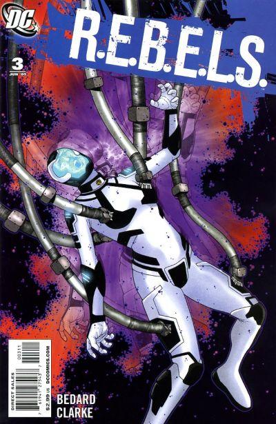 DC Comics - R.E.B.E.L.S. #3(oferta capa protetora)