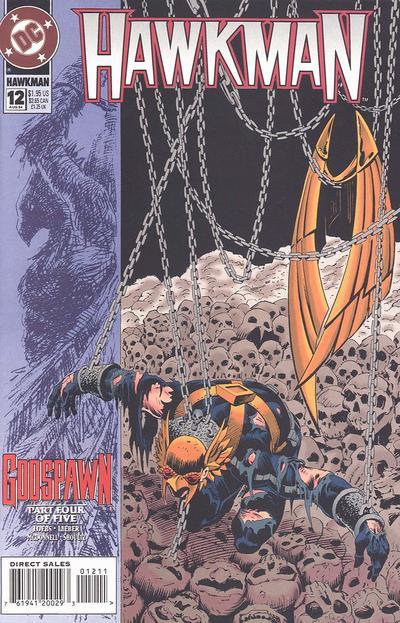 DC Comics - Hawkman #12 (oferta capa protetora)