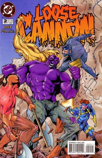 DC Comics - Loose Cannon #2 (oferta capa protetora)