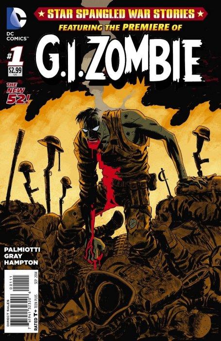 DC Comics - G.I. Zombie #1 (oferta capa protetora)