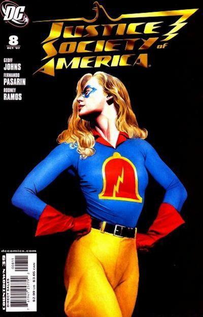 DC Comics - Justice Society America #8 (oferta capa protetora)