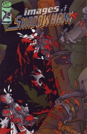 Image Comics - Images of Shadowhawk #1 (oferta capa protetora)