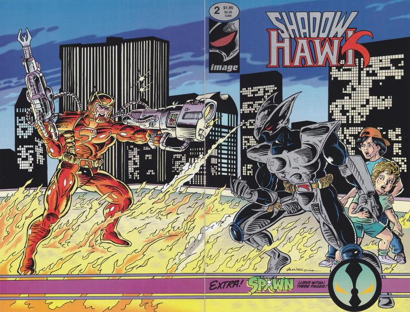Image Comics - Shadowhawk #2 (oferta capa protetora)