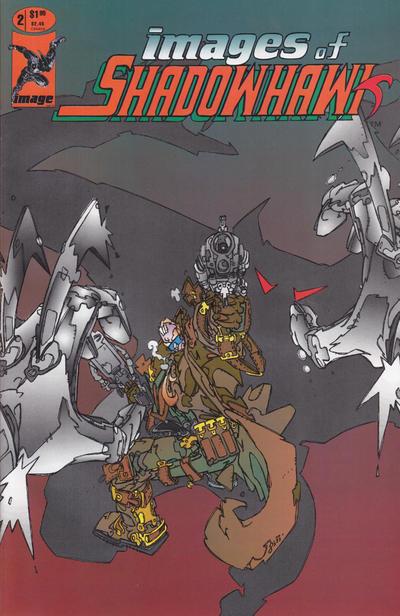 Image Comics - Images of Shadowhawk #2 (oferta capa protetora)