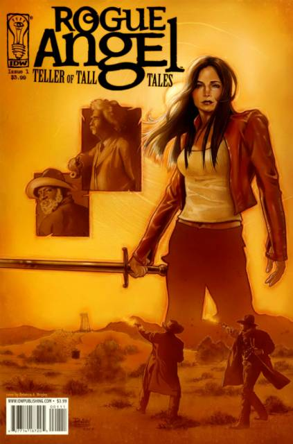 IDW Comics - Rogue Angel: Teller of Tall Tales #1 (oferta capa protetora)