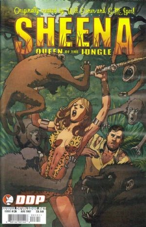 DDP Comics - Sheena Queen of the Jungle #3 (oferta capa protetora)