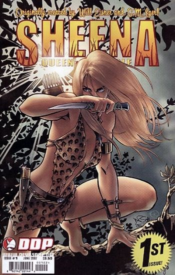 DDP Comics - Sheena Queen of the Jungle #1 (oferta capa protetora)