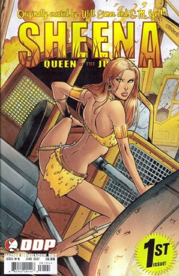 DDP Comics - Sheena Queen of the Jungle #1 Cover C (oferta capa protetora)
