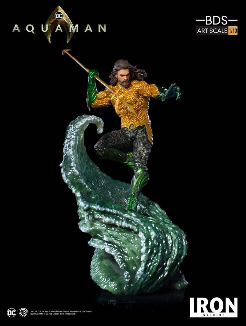 Aquaman BDS Art Scale Statue 1/10 Aquaman 30 cm
