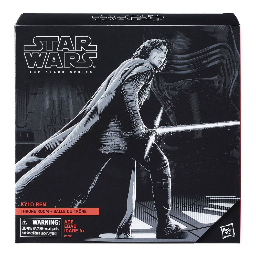Star Wars Episode VIII Black Series Deluxe AF 2017 Kylo Ren Throne Room Exc