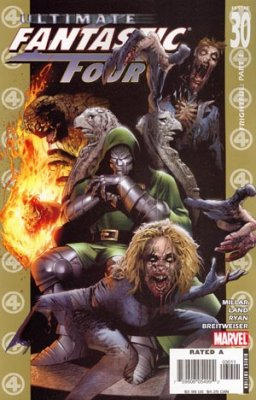 Marvel Comics - Fantastic Four Ultimate #30 (oferta capa protetora)