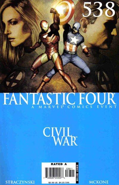 Marvel Comics - Fantastic Four #538 (oferta capa protetora)