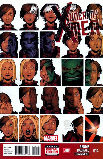 Marvel Comics - Uncanny X-Men #14 (oferta capa protetora)