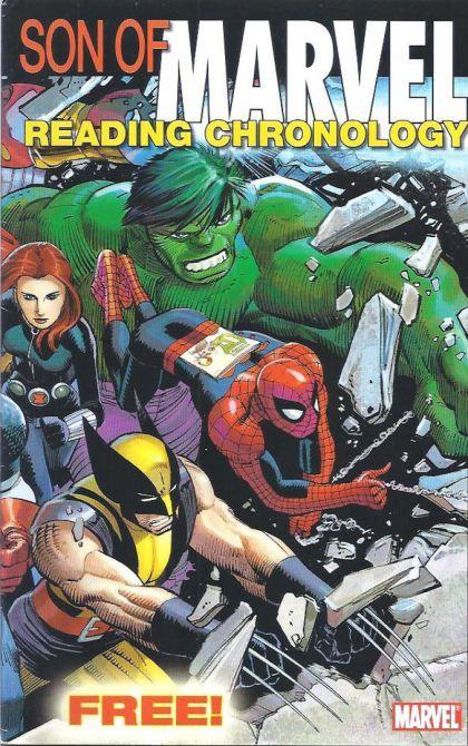 Marvel Comics - Son Of Marvel Reading Chronology (oferta capa protetora)