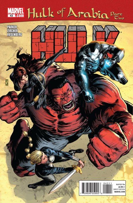 Marvel Comics - Hulk of Arabia #43 Part 2 (oferta capa protetora)
