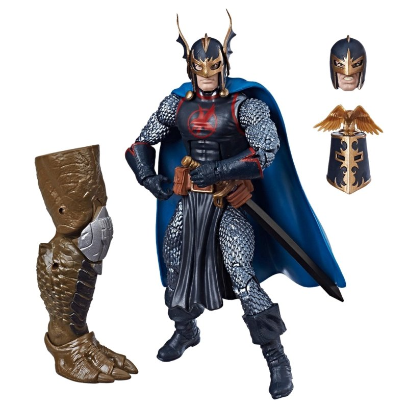 Action Figure Marvel Legends Séries Avengers - Black Knight 15 cm