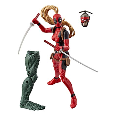 Action Figure Marvel Legends Series Deadpool Wave 2 - Lady Deadpool 15 cm