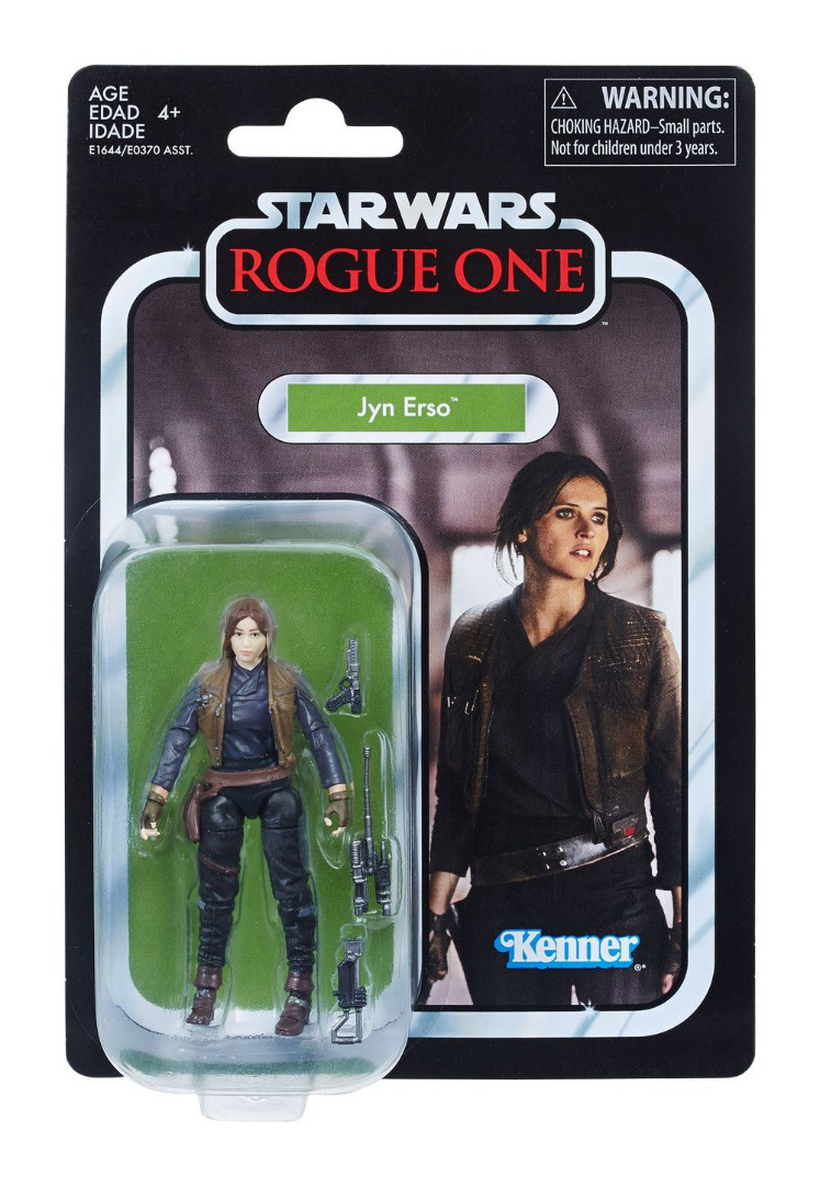Star Wars Black Series Vintage Action Figure Jyn Erso (Rogue One) 10 cm
