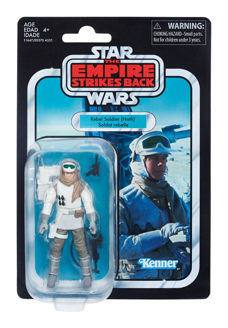 Star Wars Black Series Vintage Action Figure Rebel Soldier (Hoth) 10 cm